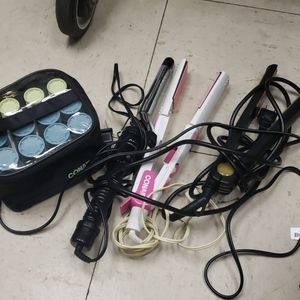 Conair hair flat iron set